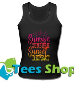 Sunrise Sunburn Sunset Repeat Tank Top_SM1
