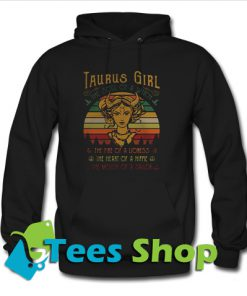 Taurus girl the soul of a witch Hoodie