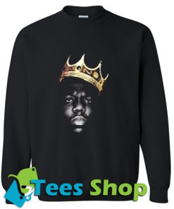 The Notorious BIG Crown Sweatshirt_SM1