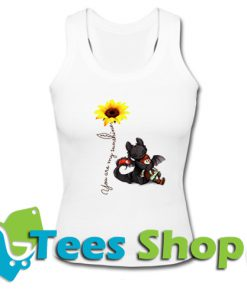 Toothless and hiccup Dragon Tank Top_SM1