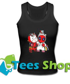 Unicorn and Deadpool Tank Top_SM1