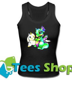 Unicorn and Dragon Tank Top_SM1