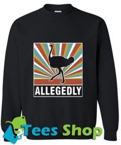Vintage Allegedly ostrich sweatshirt_SM1