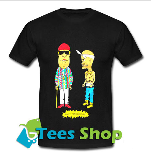 beavis and butthead tupac and biggie T Shirt_SM1