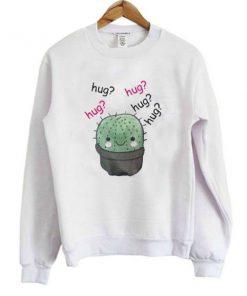 cactus hug hug sweatshirt_SM1