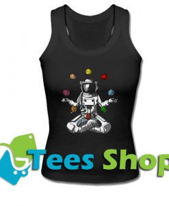 Astronot Yoga Tank Top_SM1