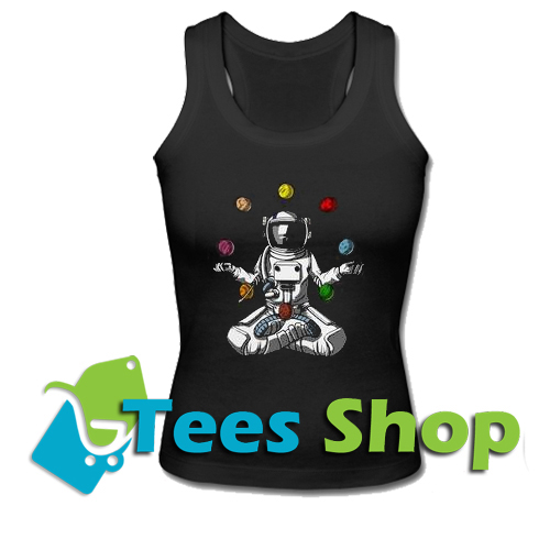 Astronot Yoga Tank Top_SM1