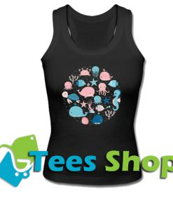 Sea animal Tank Top_SM1