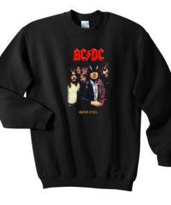 ACDC High To hell Sweatshirt Ez025