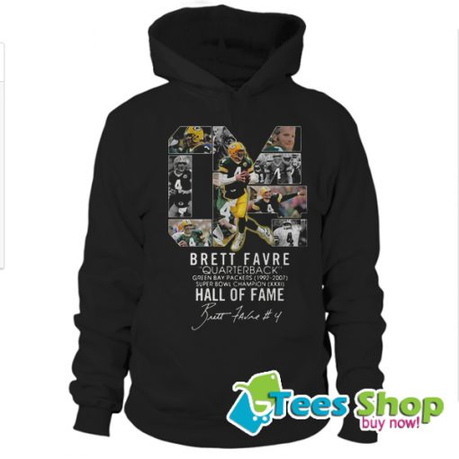 04 Brett Favre Quarterback Green Bay Packers 1992 – 2007 Hoodie STW