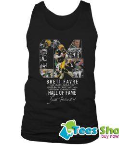 04 Brett Favre Quarterback Green Bay Packers 1992 – 2007 Tank Top STW