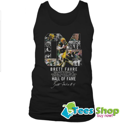 04 Brett Favre Quarterback Green Bay Packers 1992 – 2007 Tank Top STW