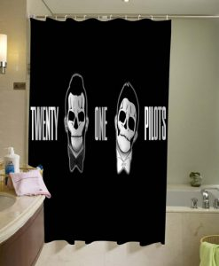 21 pilots Shower Curtain AT