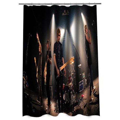 5 Second of summer Shower curtain AT