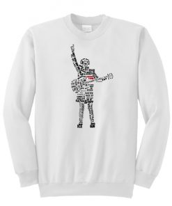 ACDC by lettherebeart Sweatshirt (TM)