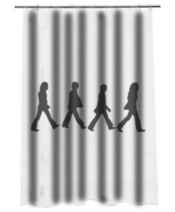 Abbey Road Beatles Shower curtain AT