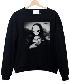 Alien Mona Lisa Sweatshirt (TM)
