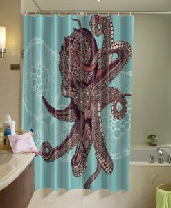 Amazing Octopus Shower Curtain AT