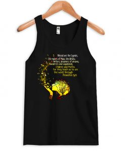 Blessed Are The Gypsies The Makers Of Music The Artists Writers And Vagabonds Beautiful Eyes Tanktop AT