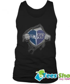 Seahawks Huskies It's In My Heart Inside Me Tank Top STW