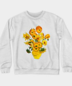 Sunflower Vincent Van Gogh Sweatshirt (TM)