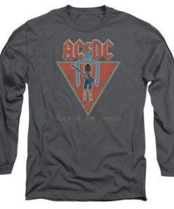 ACDC Flick Fandom Charcoal Sweatshirt