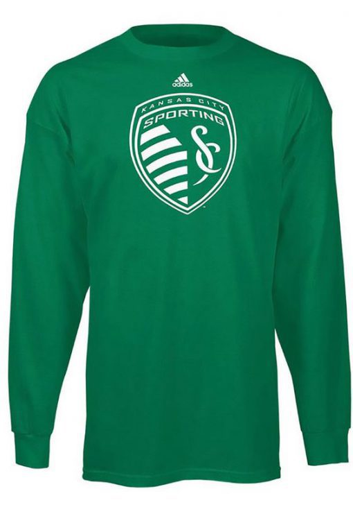 Adidas Sporting Kansas City Kelly Green Sweatshirt