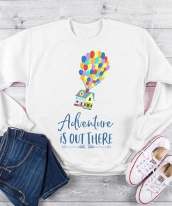 Adventure Is Out There Sweatshirt