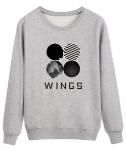 BTS Wings Classic Sweatshirt