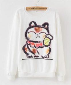 Cute Cat Rainbow Sweatshirt