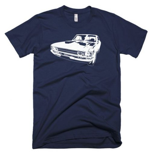1972 Dodge Dart – Modern Rodder – Men's T-Shirt SN
