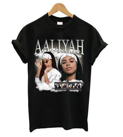 Aaliyah Homage T shirt SN