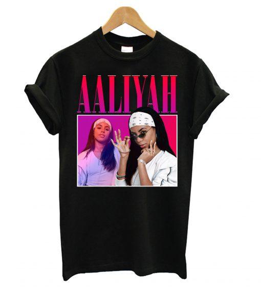 Aaliyah T shirt SN