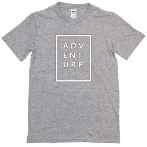 Adventure Grey T-shirt SN
