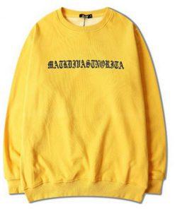 Ariana Grande Yellow Sweatshirt SN