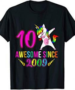 Awesome Since 2009 T-shirt SN