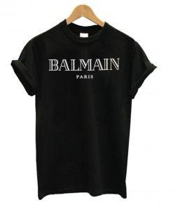 Balmain Logo Print T shirt SN