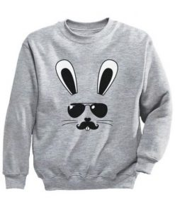 Bunny Face Youth Kids Sweatshirt