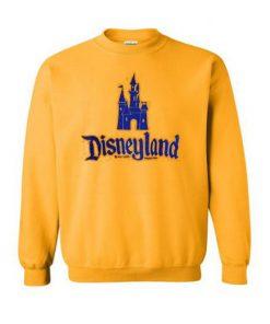 Castle Disneyland Yellow Sweatshirt SN