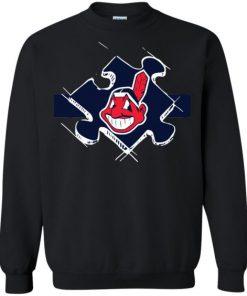 Cleveland Indians Autism Sweatshirt