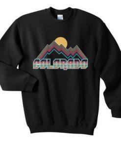 Colorado Black Sweatshirt
