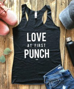 Love at First Punch Tank Top