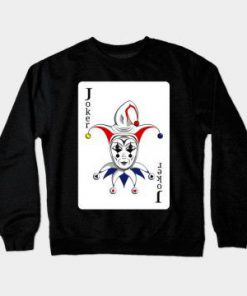 Sweat Shirt Joker Playing Card