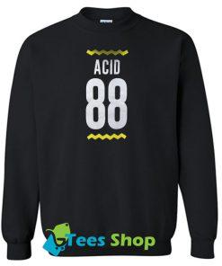 Acid 88 Back Print sweatshirt SN