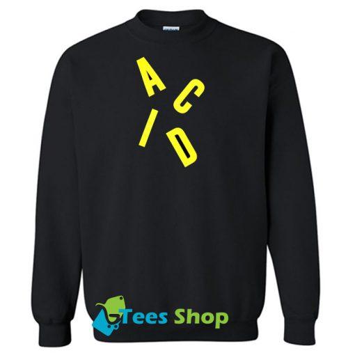 Acid Letter sweatshirt SN