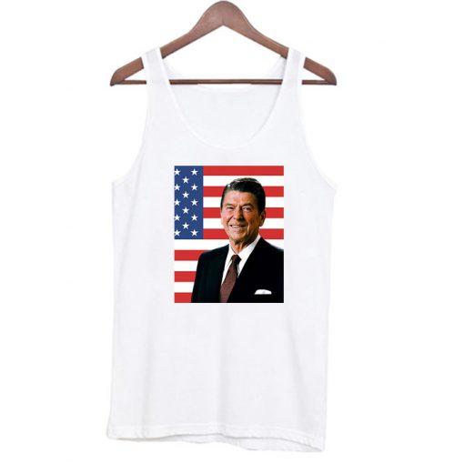 Actor and former president Ronald Reagan Tank Top SN