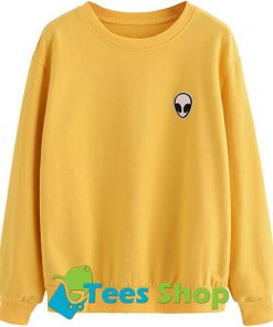 Alien Patch Sweatshirt SN