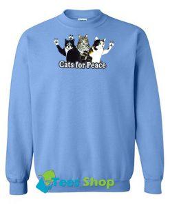 Cats For Peace sweatshirt SN