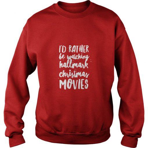 Hallmark Christmas Movies 2018 Sweatshirt SN