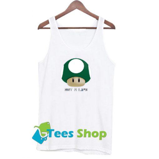 Mario Mushroom Get a Life Men's Tank Top SN